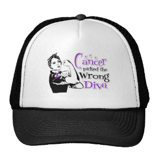 Pancreatic Cancer Picked The Wrong Diva Trucker Hat