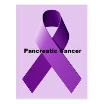 Pancreatic Cancer Postcard