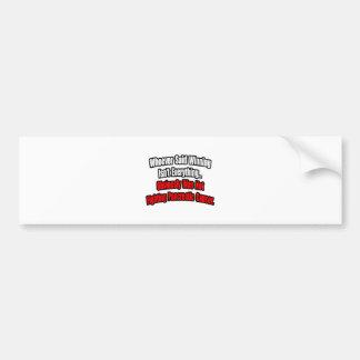 Pancreatic Cancer Quote Bumper Sticker