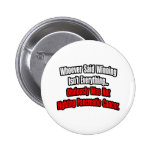 Pancreatic Cancer Quote Pinback Button