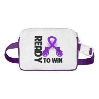 Pancreatic Cancer Ready To Win Nylon Fanny Pack