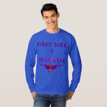 Pancreatic Cancer Rock Star Men's Long Sleeve T-Shirt