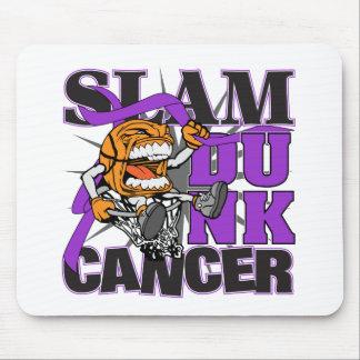 Pancreatic Cancer - Slam Dunk Cancer Mousepads