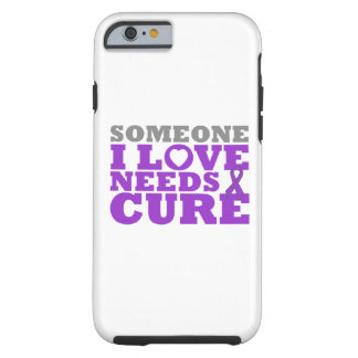 Pancreatic Cancer Someone I Love Needs A Cure Tough iPhone 6 Case