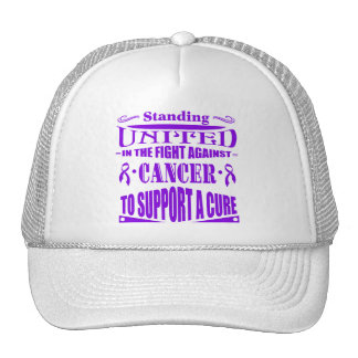 Pancreatic Cancer Standing United Mesh Hat