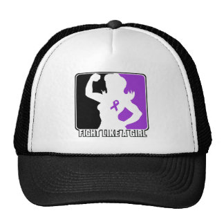 Pancreatic Cancer Strength Fight Like A Girl Hat
