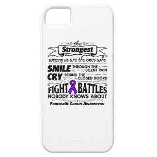 Pancreatic Cancer Strongest Among Us iPhone SE/5/5s Case