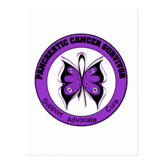 Pancreatic Cancer Survivor Butterfly Post Cards