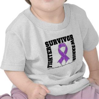 Pancreatic Cancer Survivor Fighter Warrior Tshirts