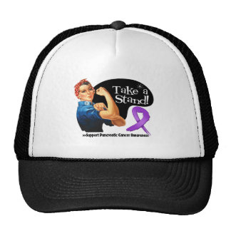 Pancreatic Cancer Take a Stand Trucker Hat