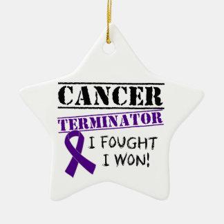 Pancreatic Cancer Terminator Ornament