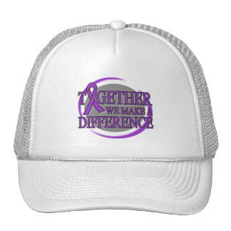 Pancreatic Cancer Together We Make A Difference Hats