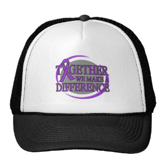 Pancreatic Cancer Together We Make A Difference Hat