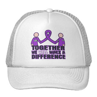 Pancreatic Cancer Together We Will Make A Differen Mesh Hats