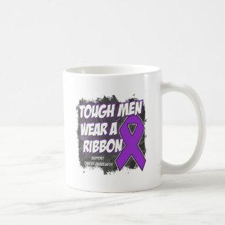 Pancreatic Cancer Tough Men Wear A Ribbon Mug