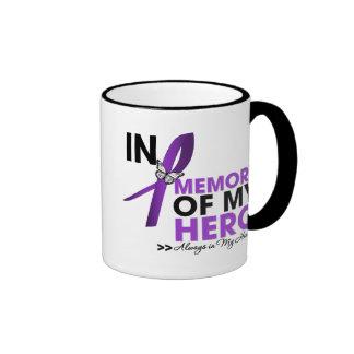 Pancreatic Cancer Tribute In Memory of My Hero Mug