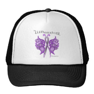Pancreatic Cancer Warrior Celtic Butterfly Mesh Hat