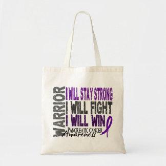 Pancreatic Cancer Warrior Tote Bag