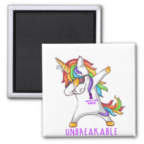 PANCREATIC CANCER Warrior Unbreakable Magnet