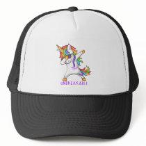 PANCREATIC CANCER Warrior Unbreakable Trucker Hat