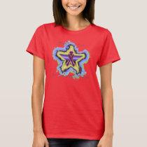 Pancreatic Cancer Wish Star Ladies Nano T-shirt