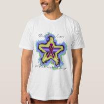Pancreatic Cancer Wish Star Men's Organic T-Shirt