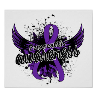 Pancreatitis Awareness 16 Poster