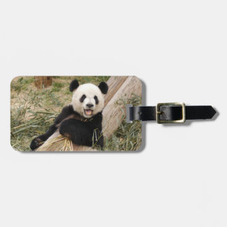 panda107 etiqueta para maleta