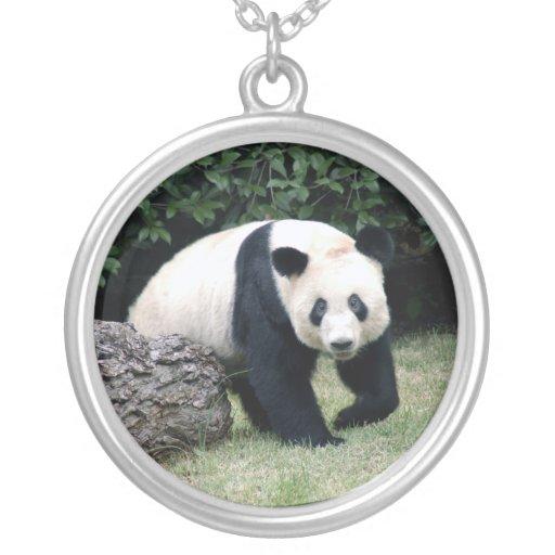 panda108 colgante redondo