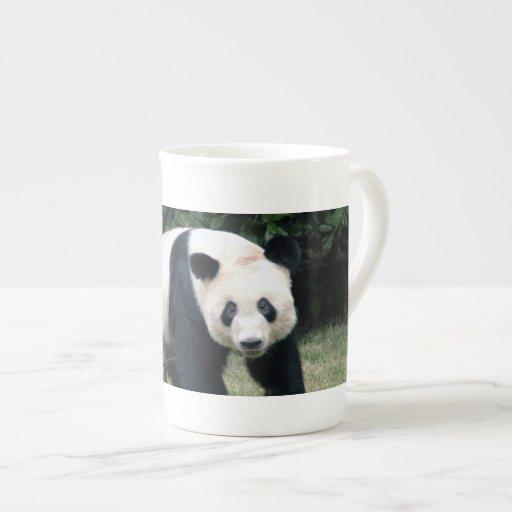 panda108 taza de porcelana