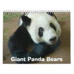 panda118, Giant Panda Bears Wall Calendar