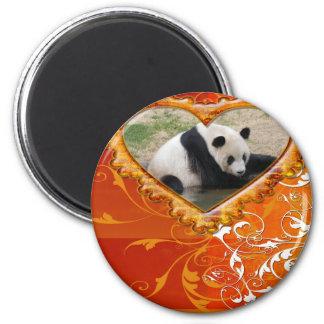 panda1-00145 2 inch round magnet