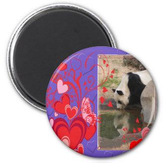 panda1-00507 2 inch round magnet