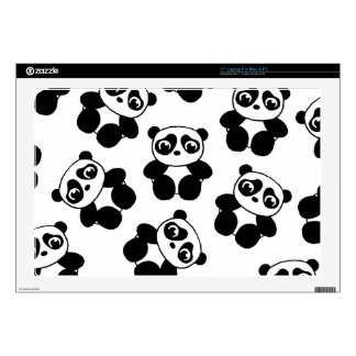 """Panda 17"""" Laptop Skin"""