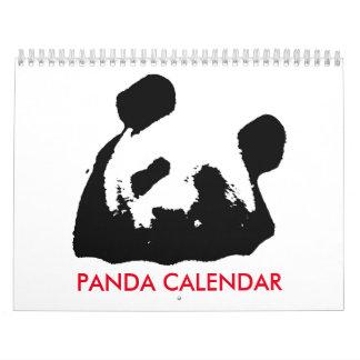 Panda 2018 Calendar