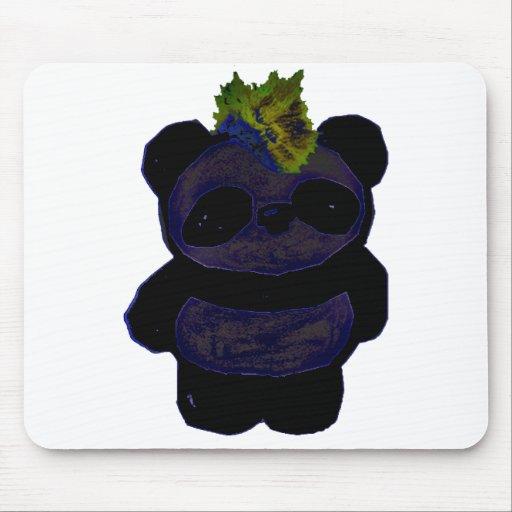 Panda 2 del punk rock tapete de ratones
