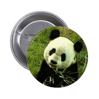 Panda 2 Inch Round Button