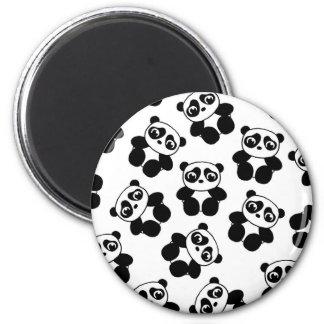 Panda 2 Inch Round Magnet