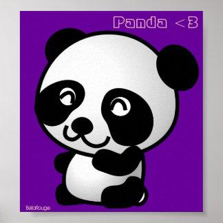 Panda <3 Poster