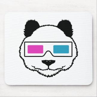 panda 3D Alfombrillas De Ratones