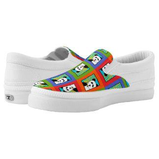 Panda 4-Square Z slipons Slip-On Sneakers