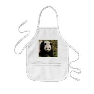 panda-92 kids' apron