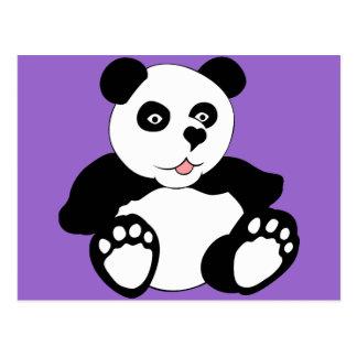 Panda adorable tarjetas postales