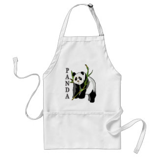 Panda Adult Apron