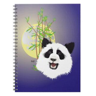 Panda (Ailuropoda melanoleuca) note booklet Notebook