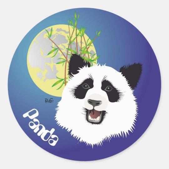 Panda (Ailuropoda melanoleuca) sticker