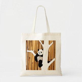 Panda And Bamboo Tote Bag