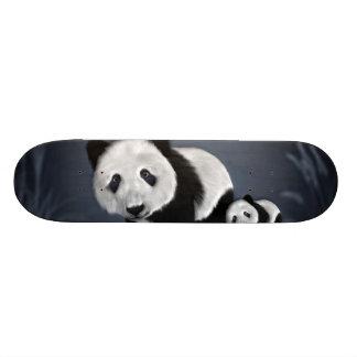 Panda and Cub from China Skate Decks