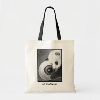 Panda and Eyeball Bag