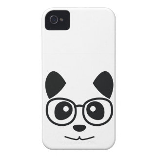 Panda And Glasses iPhone 4 Cover